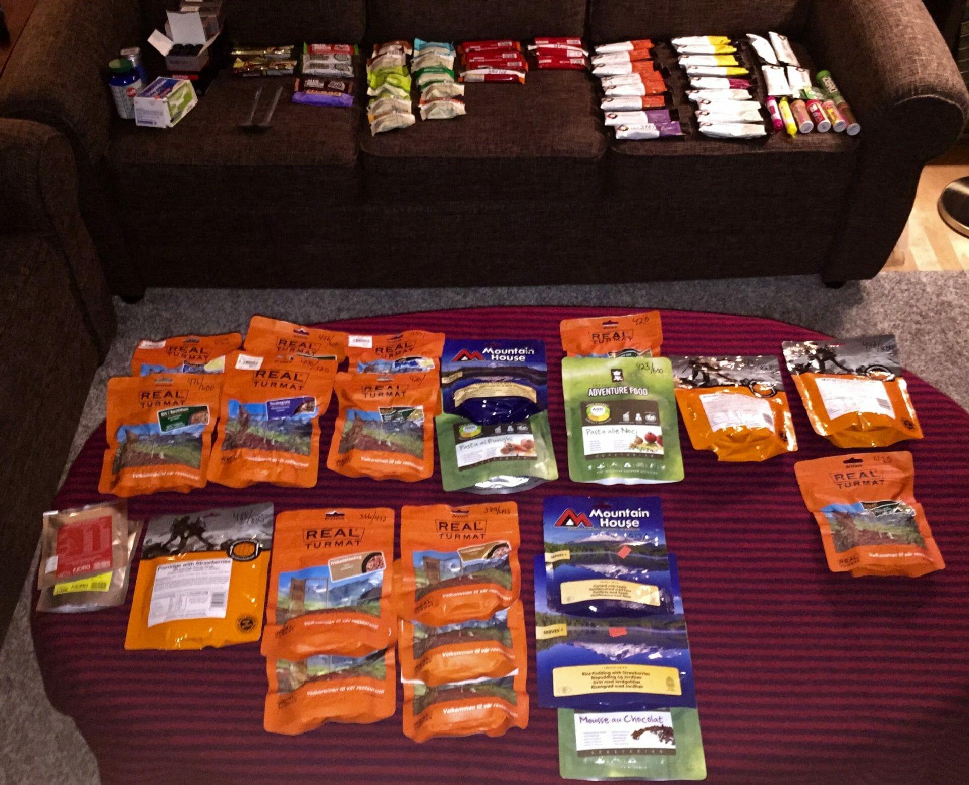 Calories to Ecuador