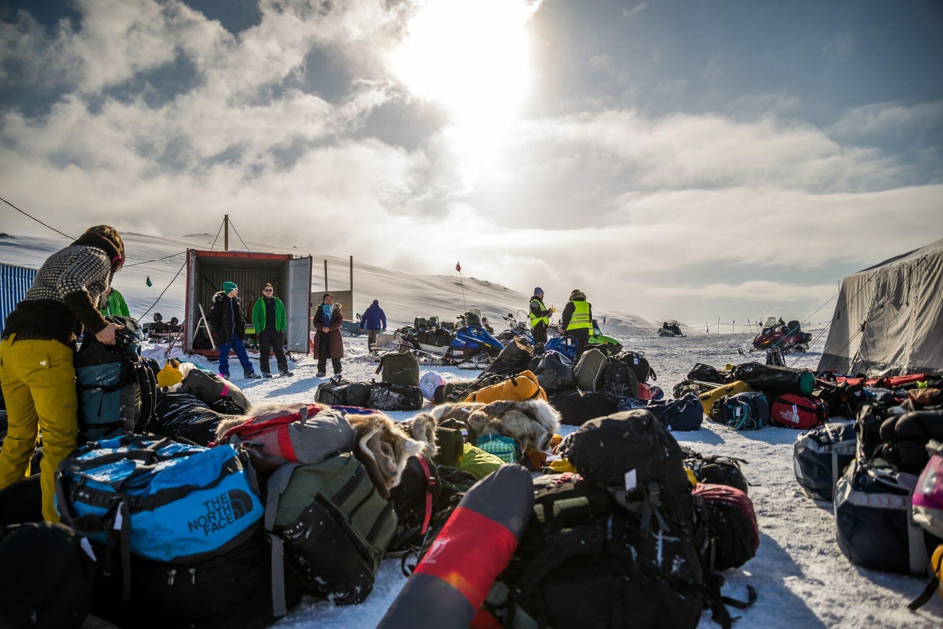 Utstyr til Arctic Circle Race Exploring the limits