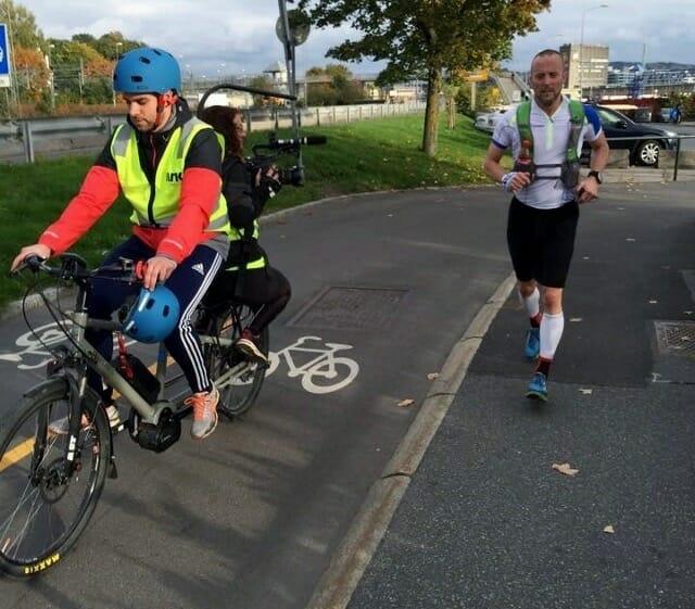 NRK er med - På el-sykkel!