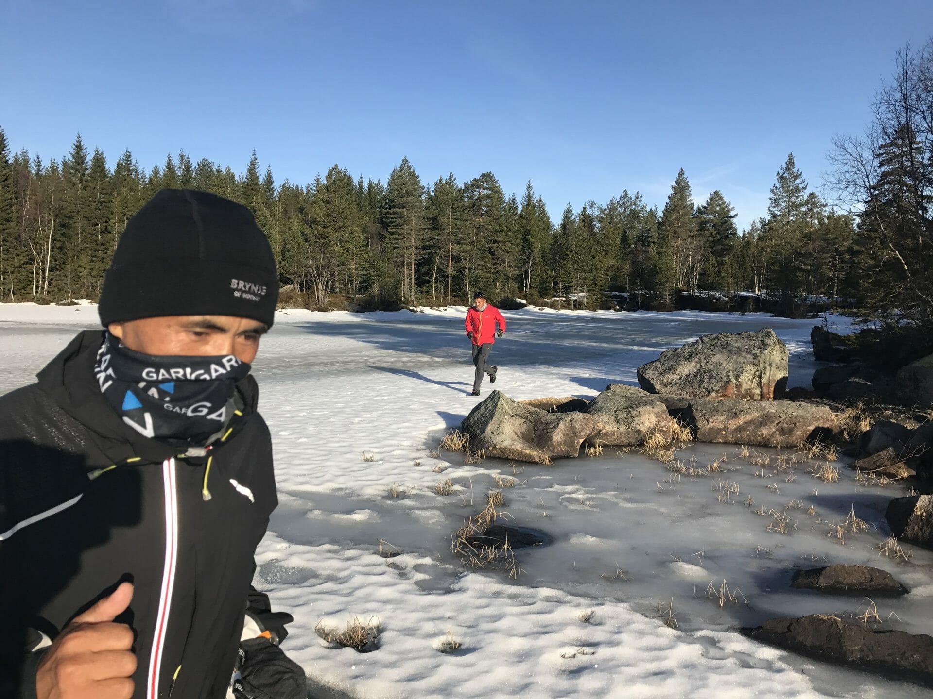 North Pole Marathon Exploring the limits